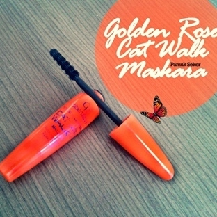 GOLDEN ROSE CAT WALK MASKARA