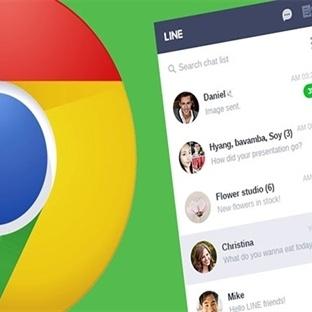 Google Chrome için LINE Eklentisi Yayınlandı