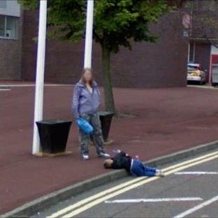 Google Street'te Yakalanan 10 İlginç Fotoğraf