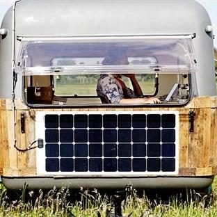 Güneş Enerjili Karavan Geliyor