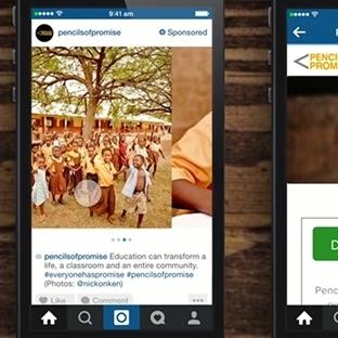 Instagram Yeni Reklam Kapıları Açıyor