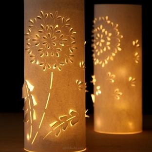Kağıttan Kolay Romantik Işık Yapımı 2015