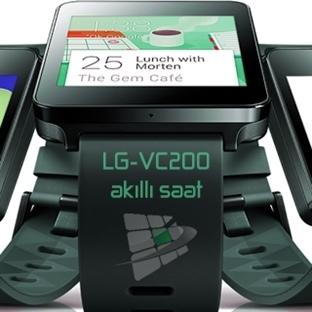 LG Yepyeni Bir Akıllı Saat Tasarladı