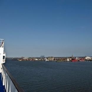 Londra'dan Amsterdam'a deniz yolu ile ulaşım