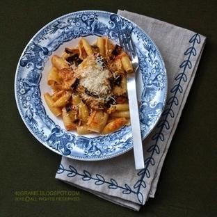 Patlıcanlı Makarna Tarifi