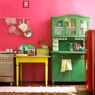 Renkli Mutfaklar