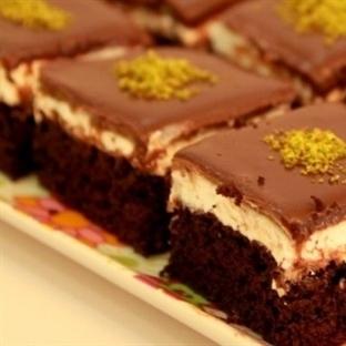 Şerbetli Çikolata Tatlısı Nasıl Yapılır?