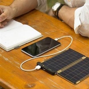 Solar Paper, Telefonunuz Güneşlenecek
