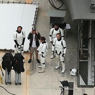 Star Wars - The Force Awakens'tan özel fotoğraflar