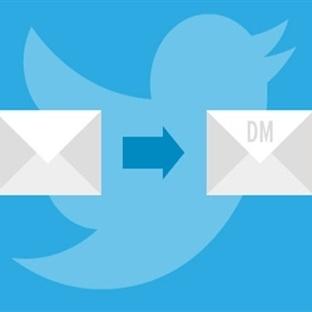 Twitter DM için Artık Bir Kuş Kadar Özgür