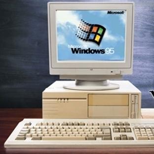 Windows 95 Yirminci Yaşını Kutladı