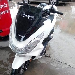 Yeni Honda Pcx'e Merhaba.