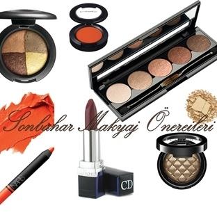 2015 Sonbahar Makyaj Önerileri