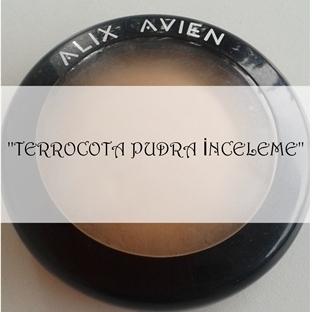 ALIX AVIEN TERRACOTA PUDRA---- NO.03