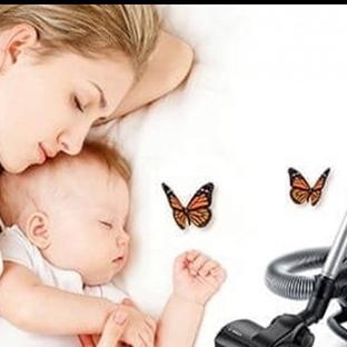 Bebekler Neden Elektrik Süpürgesi Sesinde Uyur?