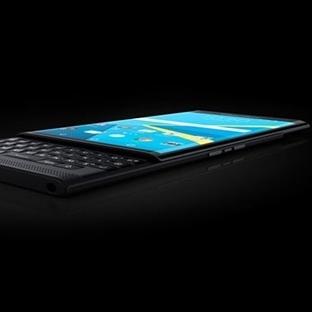 BlackBerry PRIV ile İlk Resmi Görüntüler Sunuldu