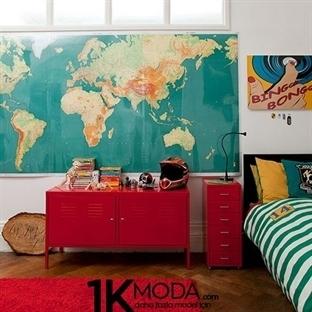 Çocuklar için Şahane Oda Dekorasyonları
