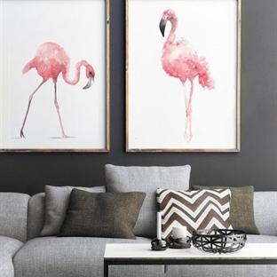 Dekorasyonda Flamingo Etkisi