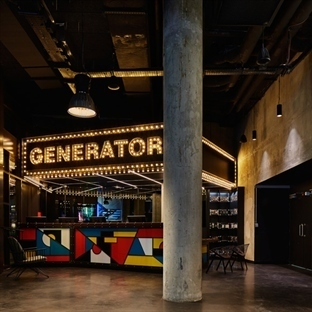 DesignAgency'den Paris'de Generator Hostel