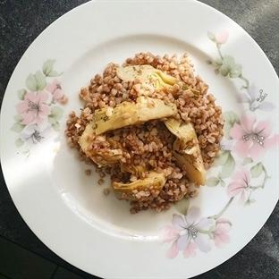 Enginarlı Karabuğday Yemeği