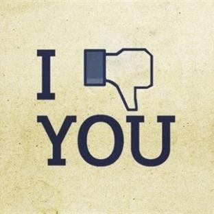 Facebook 'Beğenmedim' Tuşu !