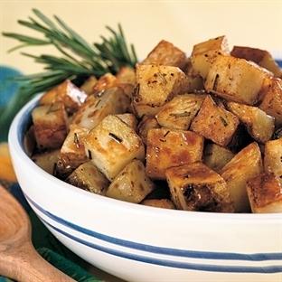 Fırında Biberiyeli Patates Tarifi