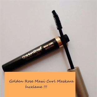 GOLDEN ROSE - PERFECT LASHES- MAXI CURL MASKARA YO