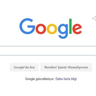 Google'ın Logosu Değişti