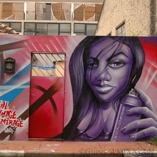 Grafiti müzesi Batman Sokağı