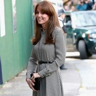 Kate Middleton: Ralph Lauren Gömlek Elbise