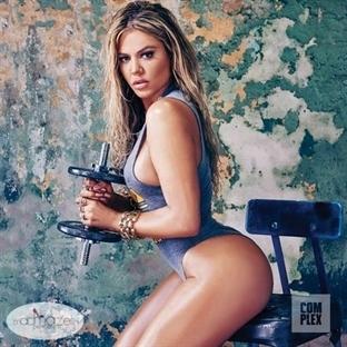 Khloe Kardashian'ı Hiç Böyle Görmediniz!