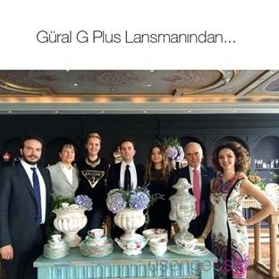 Les Ottomans Hotel'deki Güral G-Plus Lansmanı