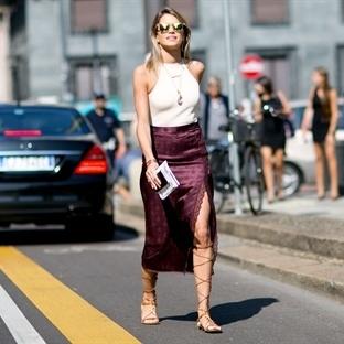 Milano Moda Haftası'nın şık sokak stilleri