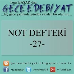 Not Defteri -27-