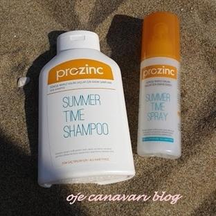 Prozinc Summer Time Şampuan ve Saç Spreyi
