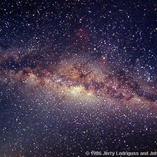 Samanyolu'nun Merkezini Neden Göremeyiz ?