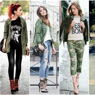 Sonbahar/ Kış Modası: Military Kombinler