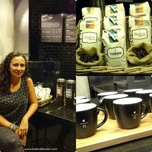 Starbucks Reserve deneyimi