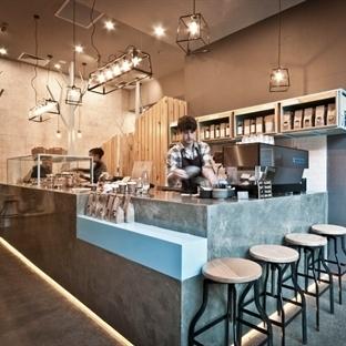 StudioY'den Melbourne'de Raw Trader Cafe