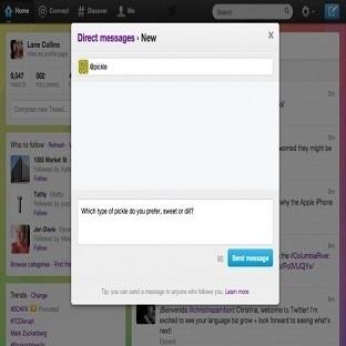 Twitter Kullanıcıların özel mesajlarınımı okuyor?