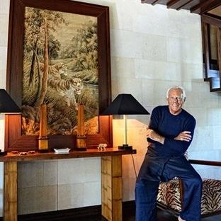 Ünlü Modacı Armani'nin Fransa'daki Şık Evi