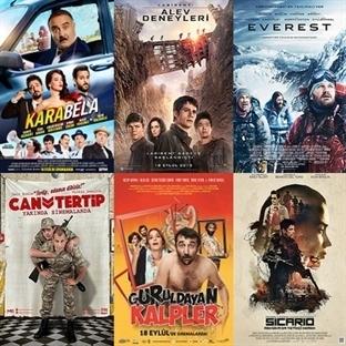 Vizyona Giren Filmler : 18 Eylül