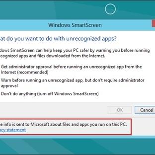 Windows SmartScreen Nedir Nasıl Kapatılır ?