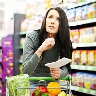Zayıflatan alışveriş listesi