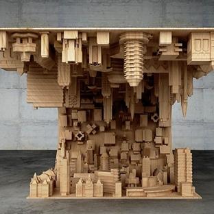 3D Printer ile Inception Şehrini Masa Yapmak