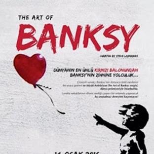Banksy Dünya Prömiyeri İstanbul'da