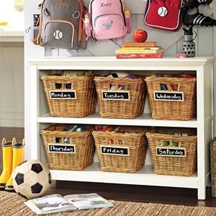 Çocuk Odaları için Pratik Depolama Çözümleri
