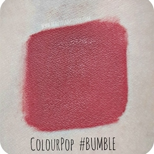"Colour Pop Ultra Matte Lip ""Bumble"" İncelemesi"