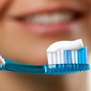 Dişler sert fırçalanırsa, diş eti çekilir