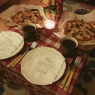Ev Yapımı İtalyan Pizza